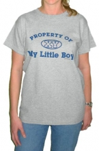 Property of My Little Boy Mom T-Shirt
