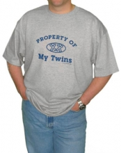 Property of My Twins Dad T-Shirt