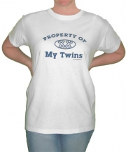 Property of My Twins Mom T-Shirt