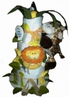 Jungle Cloth Diaper Cake